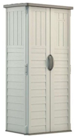 Suncast Vertical Storage Shed, 20 Cu. Ft..