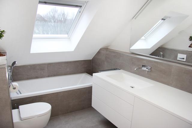 Badezimmer Umbau | Dg Badezimmerumbau Modern Badezimmer Munchen Von Zotz