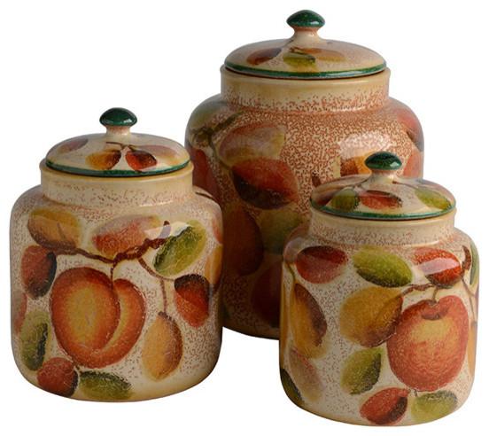 Frutta Laccata Canister Set.
