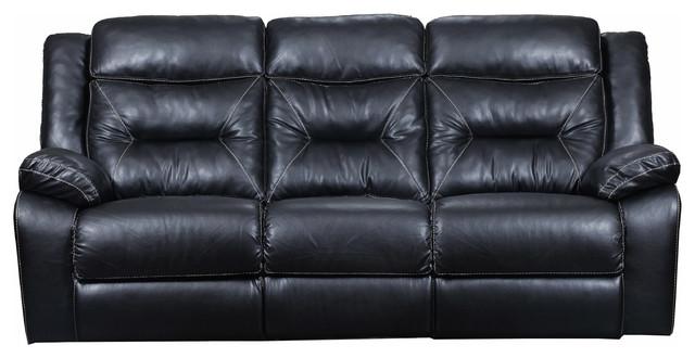 Yahtzee Onyx Double Motion Sofa