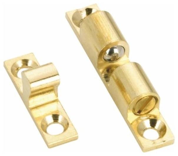 ... De Styles, Brass Double Bead Catch Brass contemporary-home-improvement