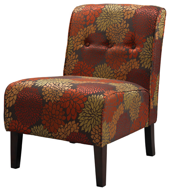 Linon Accent Chair Contemporary Armchairs And Accent