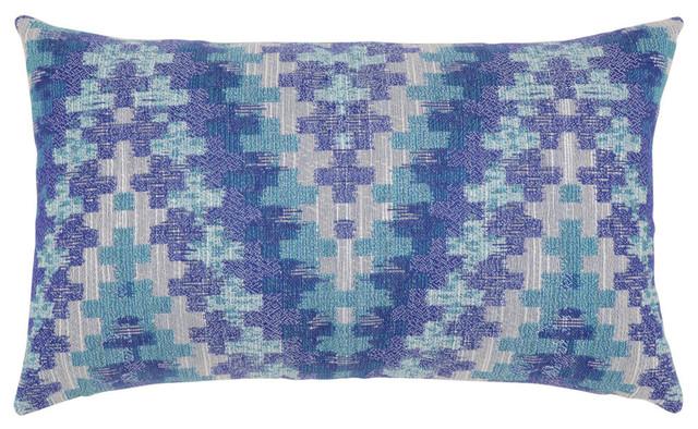 Elaine Smith Diffusion Lumbar Pillow - Contemporary - Outdoor Cushions And Pillows - by Elaine Smith