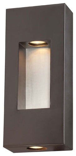 The Great Outdoors Geox 2 Light Outdoor Wall Sconce
