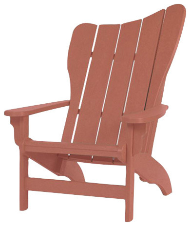 Recycled Plastic Windsail Adirondack Chair Traditional
