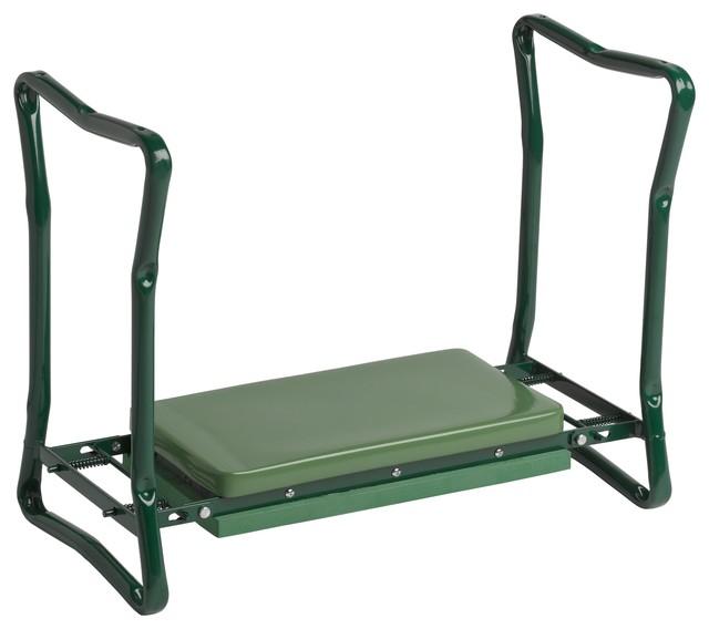 Wide Garden Kneeler, Green Contemporary Gardening Accessories