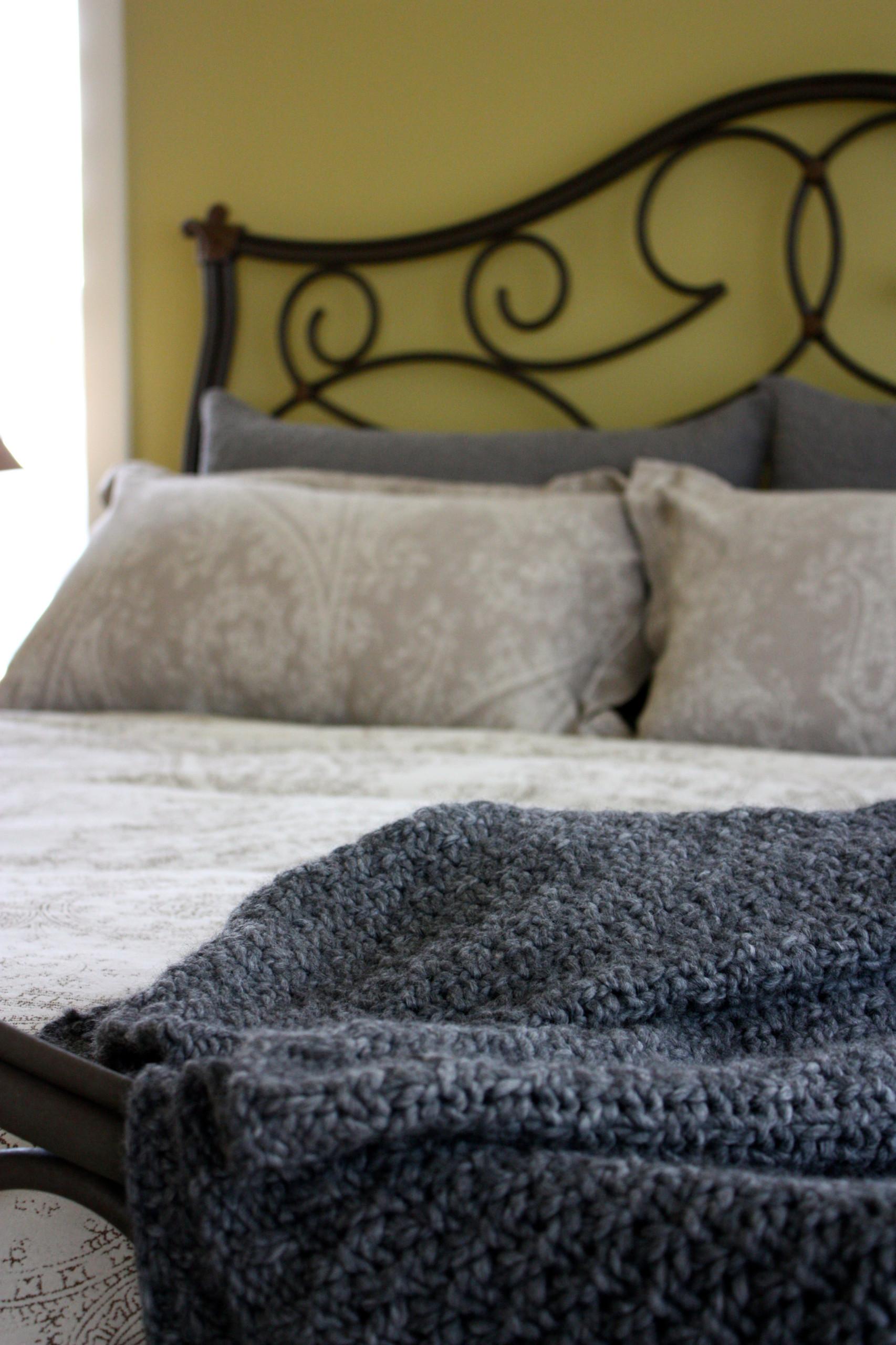 Napa Inspired Master Bedroom
