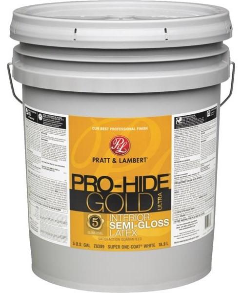 Pratt And Lambert Pro Hide Gold Ultra Latex Semi Gloss