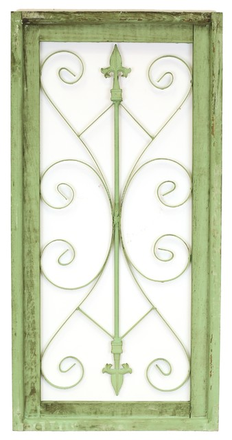 Napa Architectural Window, Antique Olive Green.