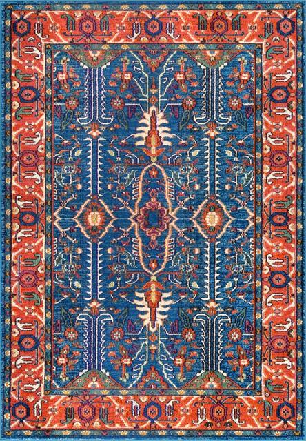 "Traditional Persian Wonder Area Rug, Multi, 2&x27;6""x8&x27; Runner."