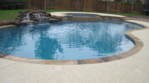 New pool build katy tx for Pool design katy