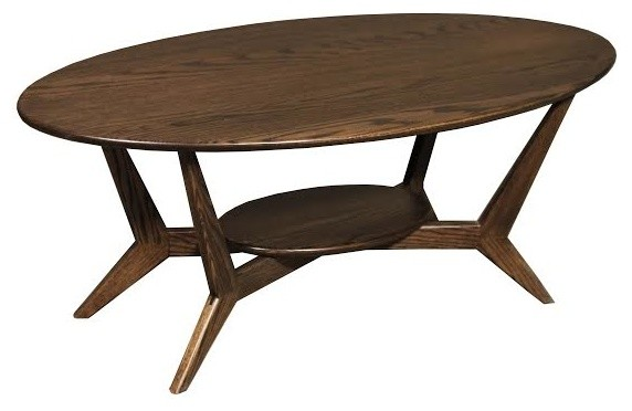 Midcentury Oval Coffee Table Midcentury Coffee Tables By Wood