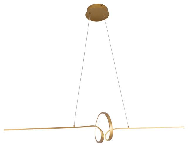 """Soltaire 47"""" Pendant Lamp."""