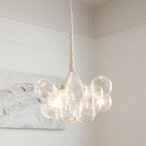 Suggestions for modern, clean, glam overhead light fixture ...
