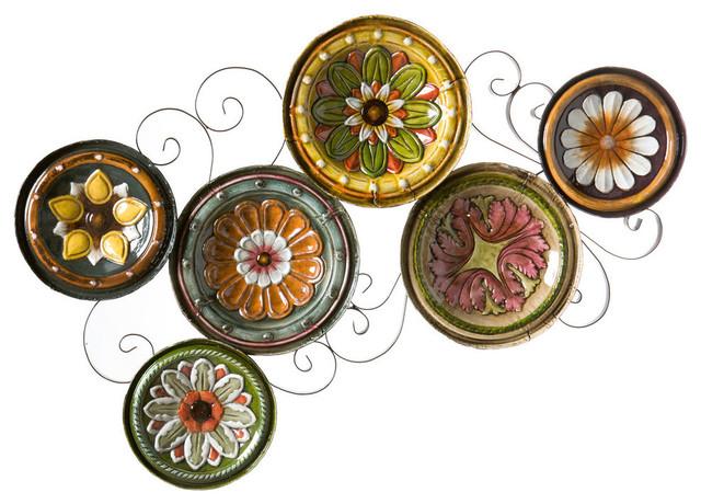 Alberta Scattered Italian Plates Wall Art.