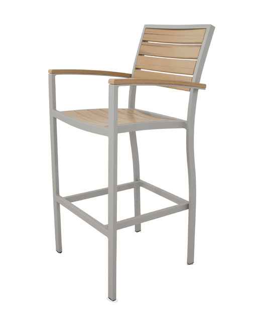 Ivy Terrace Loft Bar Arm Chair Contemporary Bar Stools