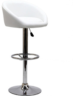 Marshmallow Bar Stool, White