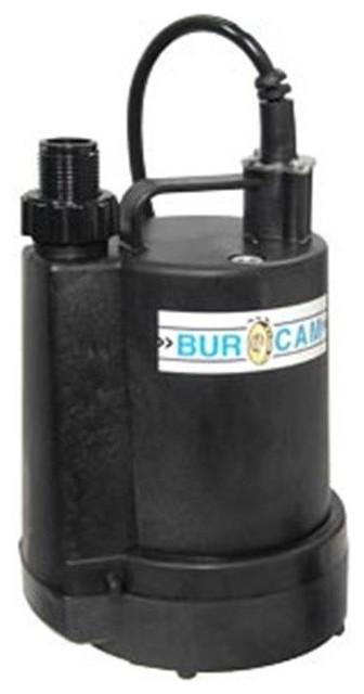 Bur-Cam Pumps 300507p Submersible Utility Pump 0.25 Hp- 115 V.