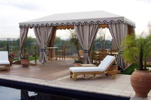 Canabas traditional-pool & Canabas - Traditional - Pool - Phoenix - by Phoenix Tent and ...