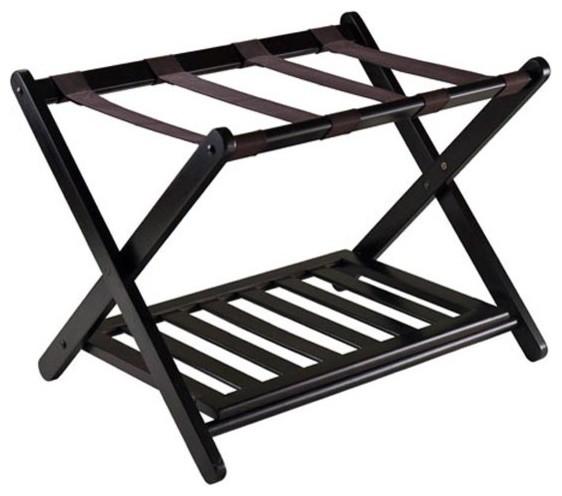 Reese Luggage Rack With Shelf
