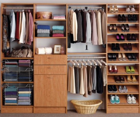 Reach In Closets Contemporary
