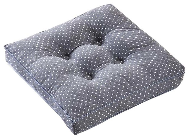 Etonnant Gray Dot, Square Seat Cushion Floor Pillow Thickened Chair Pad Tatami    Contemporary   Seat Cushions   By Blancho Bedding