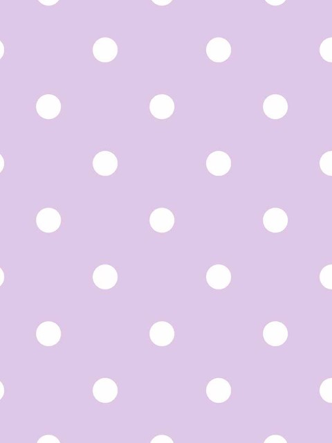 Lavender Polka Dot Wallpaper
