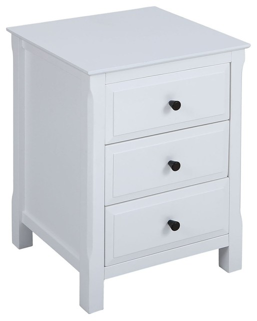 Pierpont Accent Table, White.