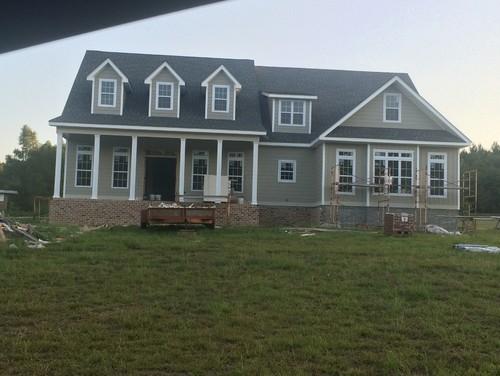 Azalea farm house plan House interior