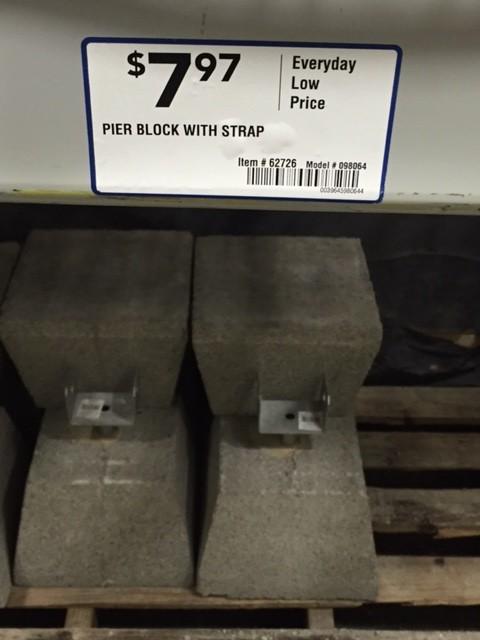 Precast Concrete Brackets : Prepare foundation and footing for precast deck pier blocks