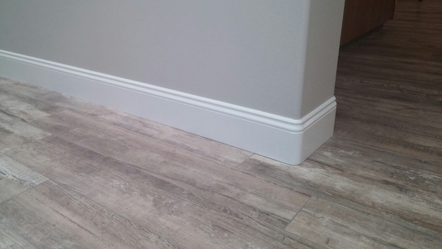 New Baseboards Over Tile Flooring - Modern - San Diego - by ...