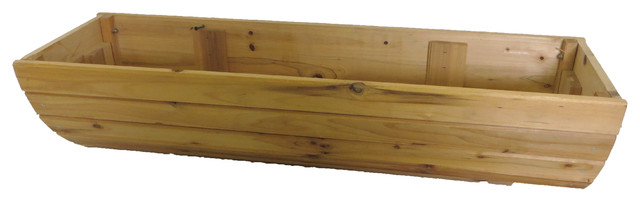 Hanging Cedar Wood Window Box 36