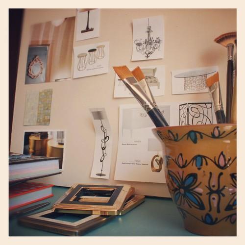 Workroom for designer