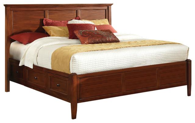 Sedona Bed, Cherry, King.