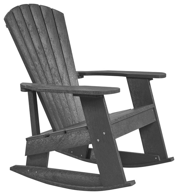 Fantastic Captiva Adirondack Rocker Greystone Andrewgaddart Wooden Chair Designs For Living Room Andrewgaddartcom