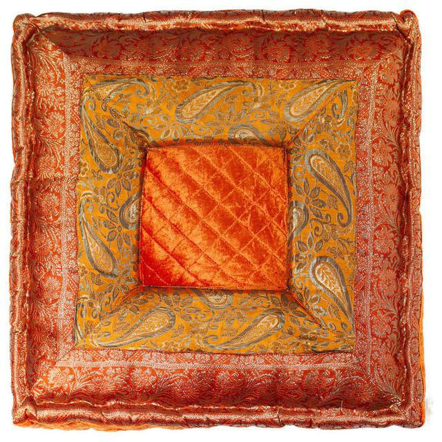 """Sumatra 16""""x16"""", Orange"""