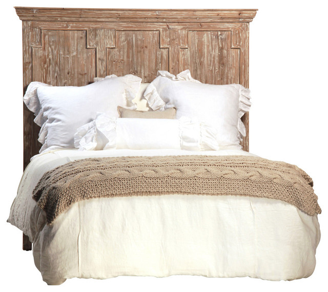 Reclaimed Wood Headboard Queen Rustic Headboards By