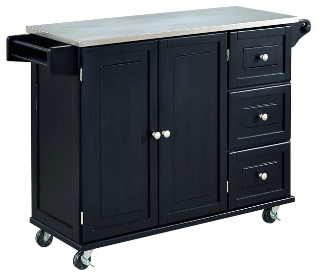 Liberty Kitchen Cart Transitional Kitchen Islands And Kitchen Carts By Home Styles Furniture