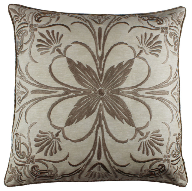 Decorative Victorian Pillows : Tourmaline Home - Fioli Pillow - View in Your Room! Houzz