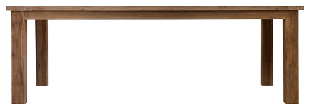 St Mawes Refectory Table, 10-Seater, Reclaimed Teak
