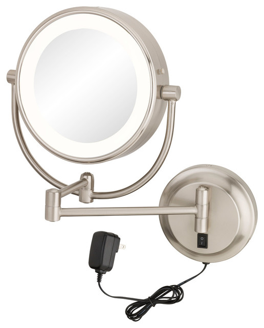 Aptations Neomodern Led Lighted Wall Mirror Hardwired