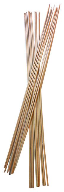 Bamboo Marshmallow Sticks, 144 Pieces.