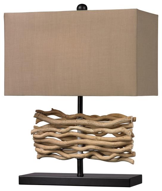 Dimond Lighting D157 Driftwood 1 Light Table Lamp   Beach Style ...