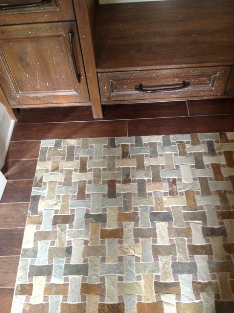 Salt Lamps Inverness : Natural Stone Floors - Traditional - Other - by Portico Tile & Fixtures, Inc.