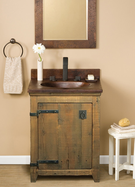 farmhouse sink bathroom vanity trails 24 quot americana vanity in chestnut farmhouse 18279