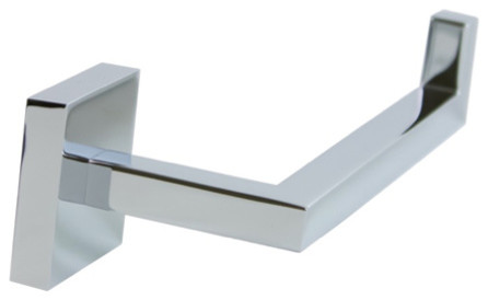 Luxury Chrome Wall Mounted Toilet Paper Holder