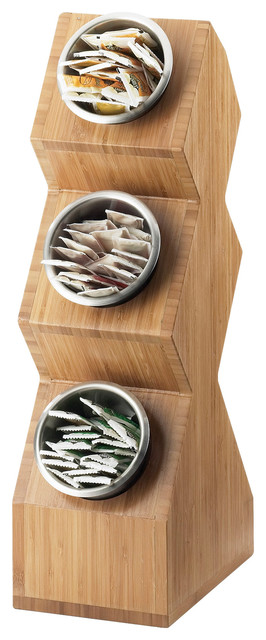 Bamboo Compartment Spacesaver.