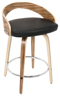 Surprising Lumisource Grotto Counter Stool Scandinavian Bar Stools And Counter Stools By Lumisource Ncnpc Chair Design For Home Ncnpcorg
