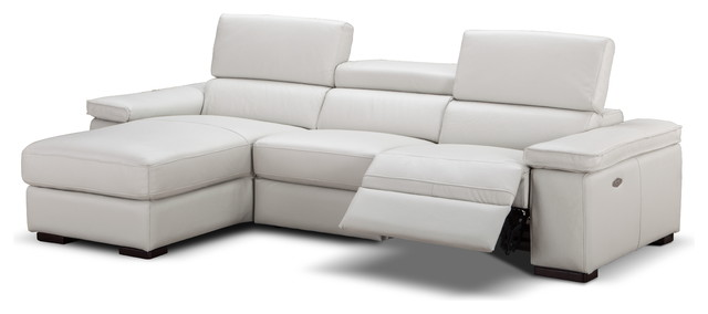 Fabia Italian Leather Sectional Sofa With Power Recliner Left Hand Facing contemporary-sectional-  sc 1 st  Houzz & Fabia Italian Leather Sectional Sofa With Power Recliner ... islam-shia.org