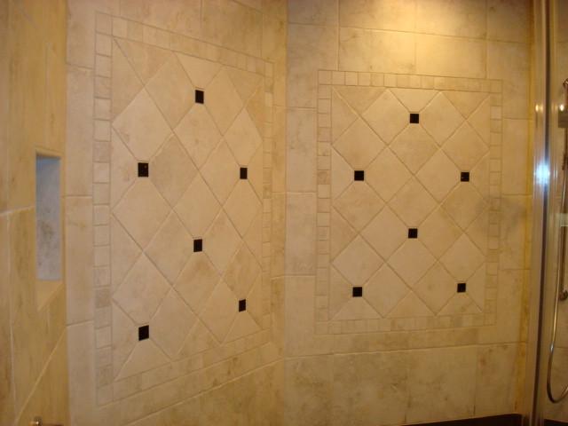 Timbercreek Court - Tile Shower - Master Bathroom Remodel